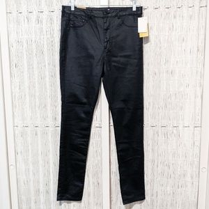 NWT H&M Super Skinny High Waist Black Jeans Sz 34